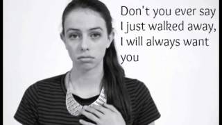 """Wrecking Ball"" - Cimorelli (Cover - Lyrics)"