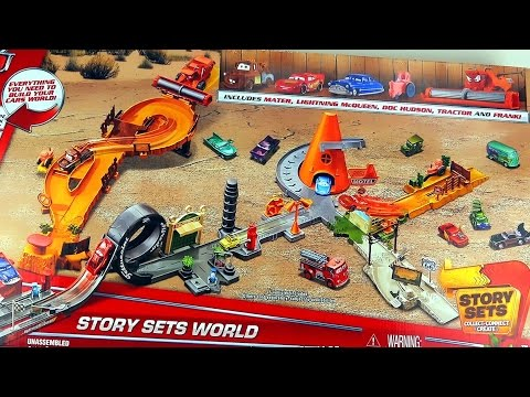 Ultimate Disney Pixar Cars Story Sets World Radiator Springs Set Collection