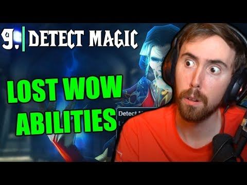 Asmongold's Reaction to Top 10 Lost Abilities Coming Back in WoW Classic (World of Warcraft)