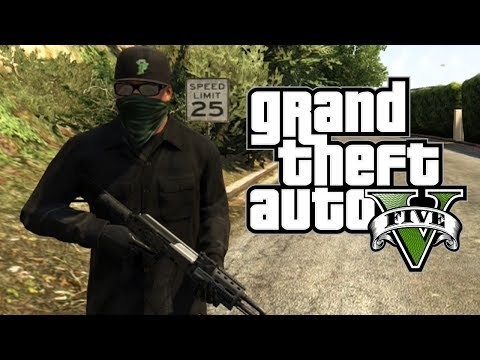 GTA 5 : Franklin GOON Outfit! - Awesome Clothing Exploit! (GTA V Gameplay)