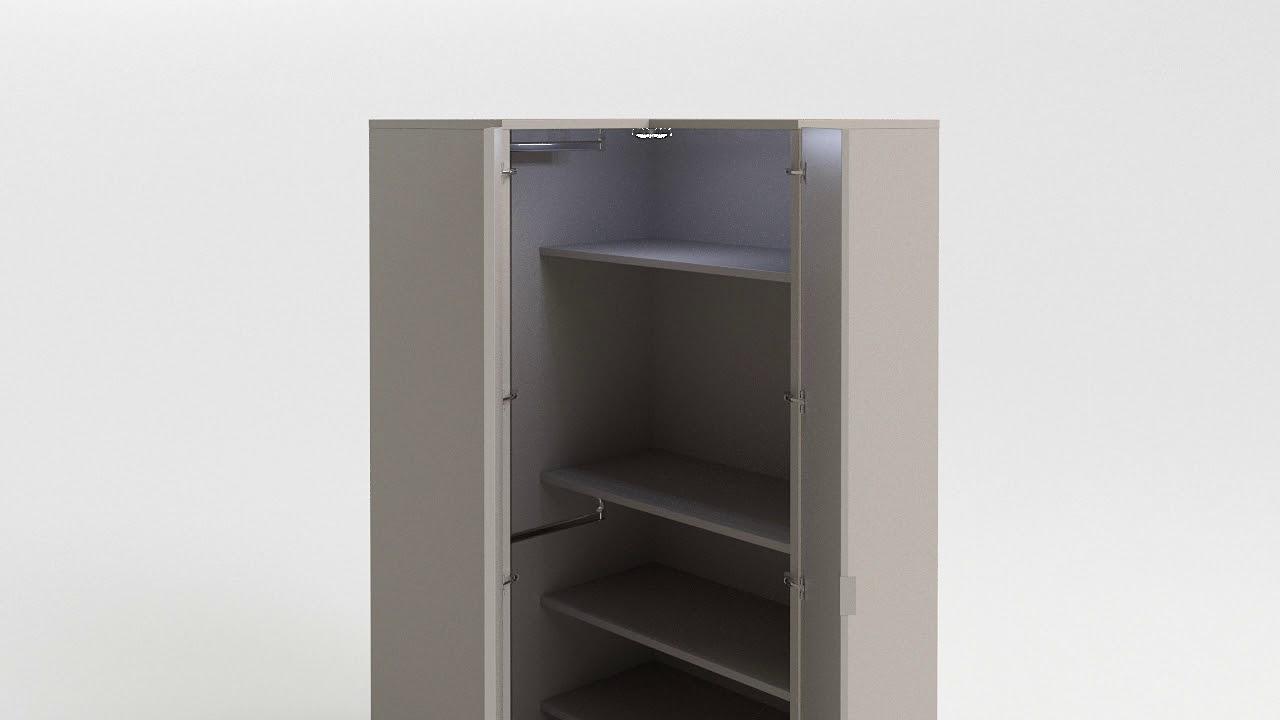Simple Corner Wardrobe