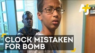 Muslim Boy Ahmed Mohamed Arrested After Bringing Clock To School
