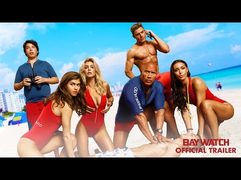 New Official Trailer for Baywatch