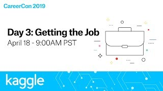Kaggle CareerCon 2019: Getting the Job (Day 3) | Kaggle