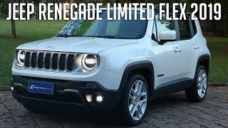 Avaliação: Jeep Renegade Limited Flex 2019