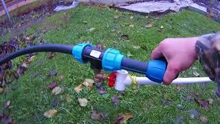 Погружной насос с поплавком для колодца водомет