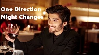 One Direction   Night Changes (Lyrics And Pictures)