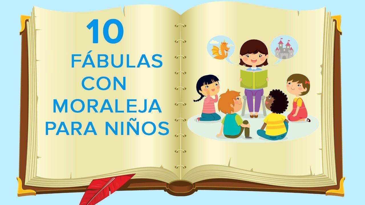 10 Fábulas con moraleja para niños ???? | Cuentos infantiles con valores