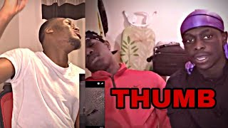 Reaction To M HUNCHO   Thumb Ft Nafe Smallz