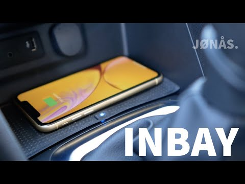 Wireless Charging im Auto nachrüsten - Inbay macht es möglich! (Renault Megane IV)
