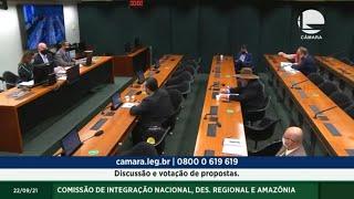 Discussão e votação de propostas. - 22/09/2021 13:00