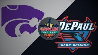 2018 Cancun Challenge | Kansas State vs DePaul