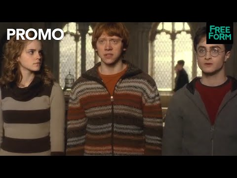 Freeform's Countdown to 25 Days of Christmas | Merry Potter Weekend | Freeform