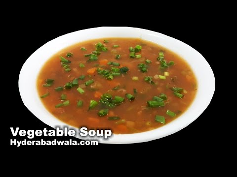 Video Vegetable Soup Recipe Video – How to Make Healthy Vegetable Soup at Home – Easy & Simple