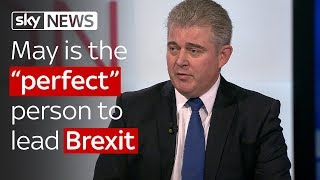 """Brandon Lewis: May is the """"perfect"""" person to lead Brexit talks"""