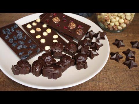 Натуральный шоколад без сахара