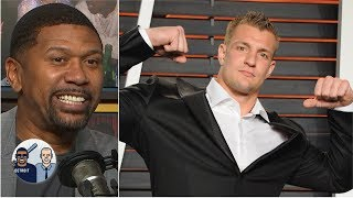 Rob Gronkowski's partying was 'tame' compared to other great athletes - Jalen Rose   Jalen & Jacoby