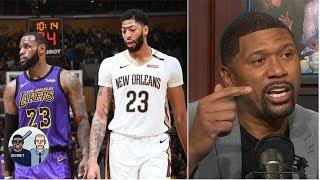 Lakers' 'Godfather' offer for Anthony Davis still doesn't impress Jalen Rose | Jalen & Jacoby