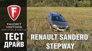 Видеообзор Renault Sandero Stepway 1-го поколения - FAVORIT MOTORS
