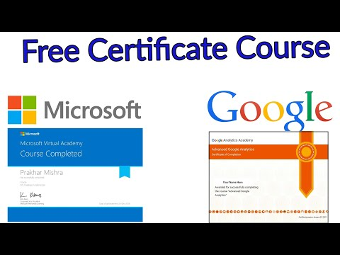 Free certificate courses online | Free Google Certificates | Free ...