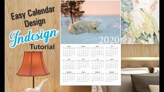 Easy Calendar Design | Adobe InDesign | Bengali