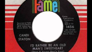 """Video thumbnail of """"CANDI STATON  I'd rather be an old man's sweetheart"""""""