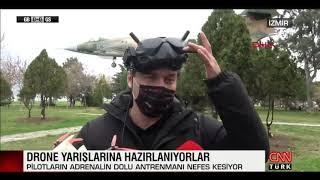 Fpv Drone ve yarışları ile ilgili CNNTÜRK'e çıkan haberim.