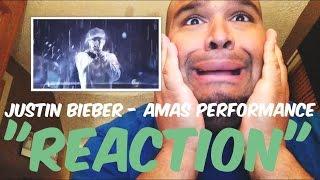 Justin Bieber - Sorry AMAs Performance 2015 [REACTION]