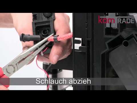Bosch VeroSelection-Serie Reparaturanleitung Milchaufschäumer-Kupplung ausbauen-tauschen-einbauen