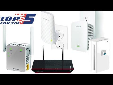 Top 5 Best WiFi Extenders of 2018