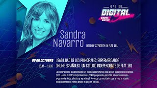 Usabilidad en principales supermercados online españoles - FLAT 101 | Digital Sessions | Women Edition