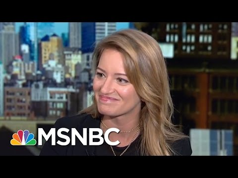 Katy Tur Details Public, Private Moments With Donald Trump | Morning Joe | MSNBC