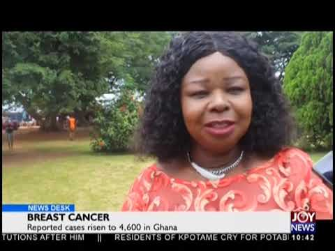 Breast Cancer - News Desk on JoyNews (18-9-18)