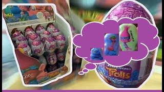 36 Trolls Kinder Surprise Eggs Trolls Movie Unboxig #93