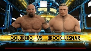 WWE 2K17: Survivor Series 2016 Predictions - Goldberg vs Brock Lesnar