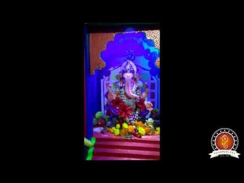 Nilesh Tembulkar Home Ganpati Decoration Video