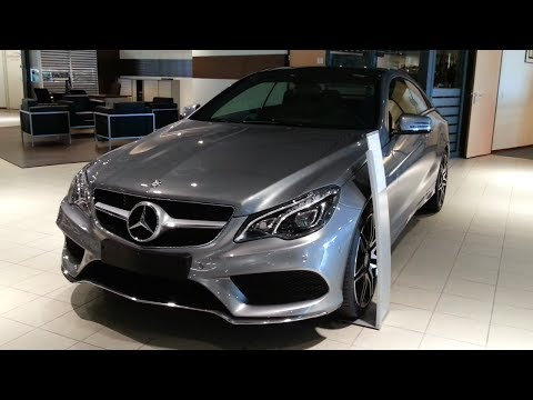 Mercedes-Benz E Class Coupe AMG 2015 In Depth Review
