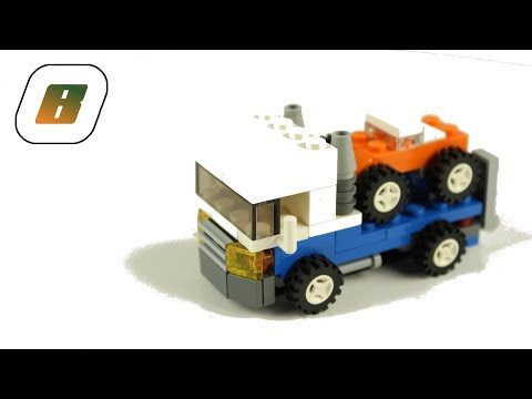Vidéo LEGO Creator 4838 : Mini véhicules