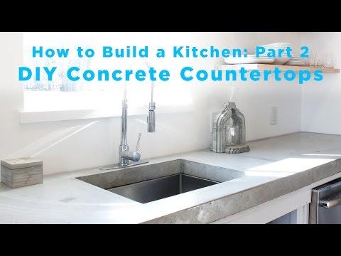 DIY Concrete Countertops | Part 2 of The Total DIY Kitchen Series