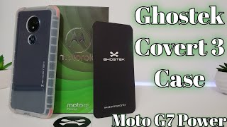 Moto g7 power Best clear protective case - Ghostek Covert 3