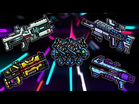 Burning Lasers Set - PIxel Gun 3D