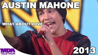 """Austin Mahone - """"What About Love"""" (2013) - MDA Telethon"""