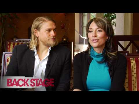 Interview, Charlie Hunnam and Katey Sagal