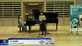 Ita Nagode plays Cadenza by Lucie Robert