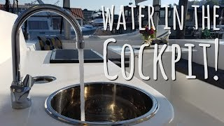 Onboard Lifestyle ep.28 Cockpit Sink Install on our Catamaran