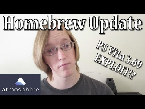 Atmosphere CFW RELEASED!  Vita 3.69 EXPLOITED?!  - Homebrew Update Week of 10.14.18