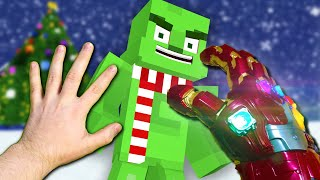 Realistic Minecraft   CHRISTMAS ATTACK!