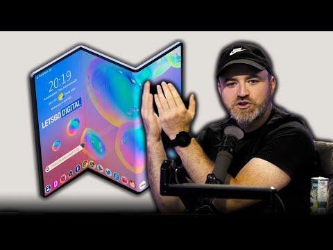 The Samsung Galaxy Z-Fold