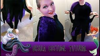 Ursula Costume Tutorial (DIY) (The Little Mermaid)