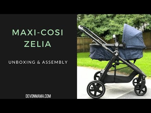 Maxi-Cosi Zelia – Unboxing & Assembly